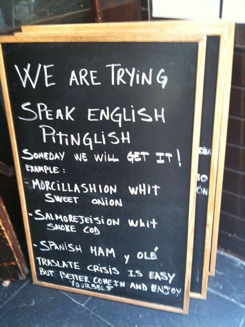 Jamón y Spanglish