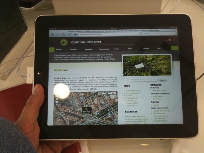 DI CMS + iPad = OK